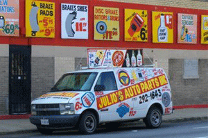 Julios Auto Parts | We Deliver | 773-292-1643 | 3000 W Diversey Ave, Chicago IL 60647
